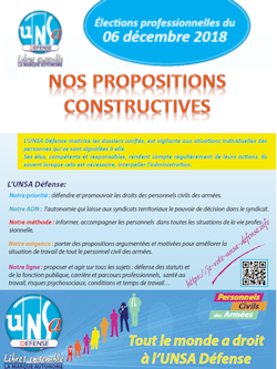 Nos Propositions Constructives